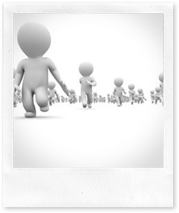 stock-footage--d-white-cartoon-crowd-running-at-white-background