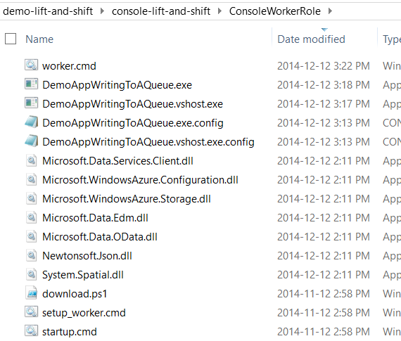 Lift and Shift of a Console Application to Microsoft #Azure