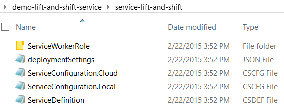 Lift and Shift of a Windows Service to Microsoft #Azure