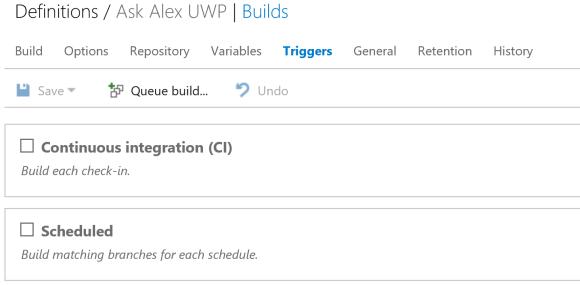 Build-Triggers